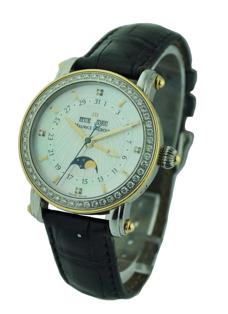 Maurice Lacroix Masterpiece Phase de Lune Dame Automatic in Steel