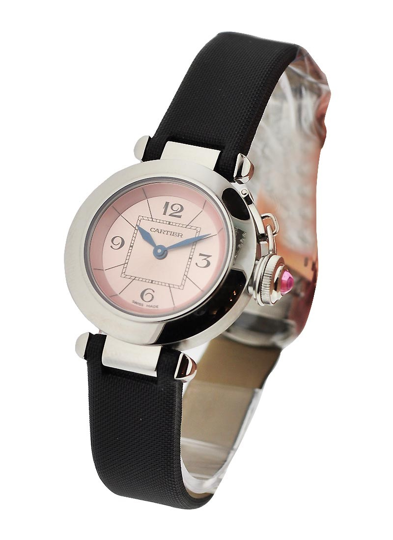 Cartier Miss Pasha with Pink Synthetic Spinel Cabochon