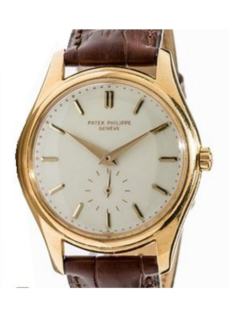Patek Philippe Vintage 2526 in Yellow Gold - Circa 1954