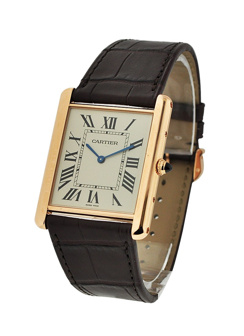 Cartier Tank Louis Cartier Extra Flat in Rose Gold