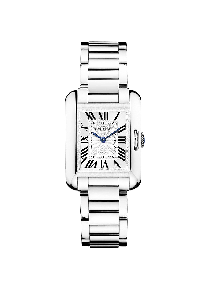 Cartier Tank Anglaise Small Model in White Gold