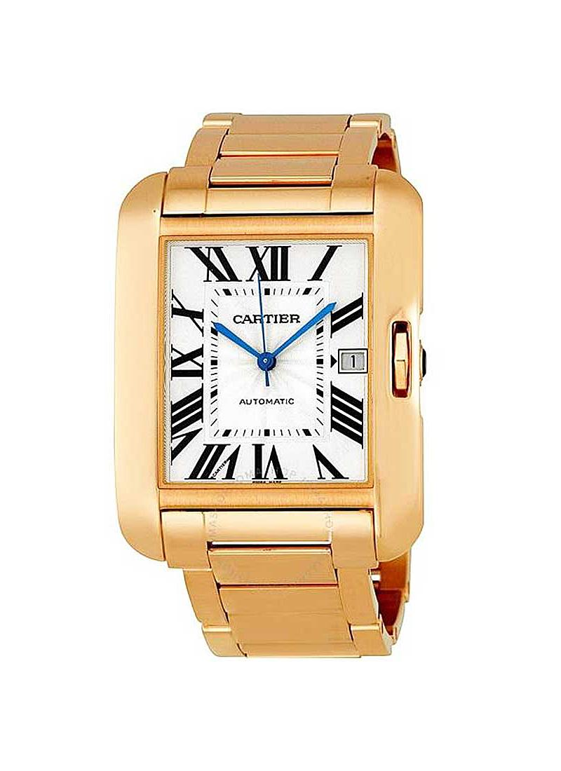Cartier Tank Anglaise Large Model in Rose Gold