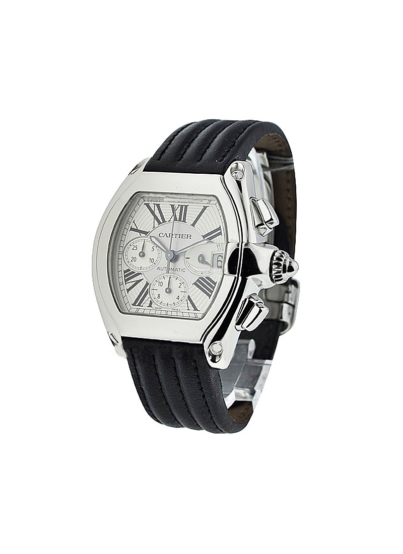 Cartier Cartier Roadster Chronograph in Steel