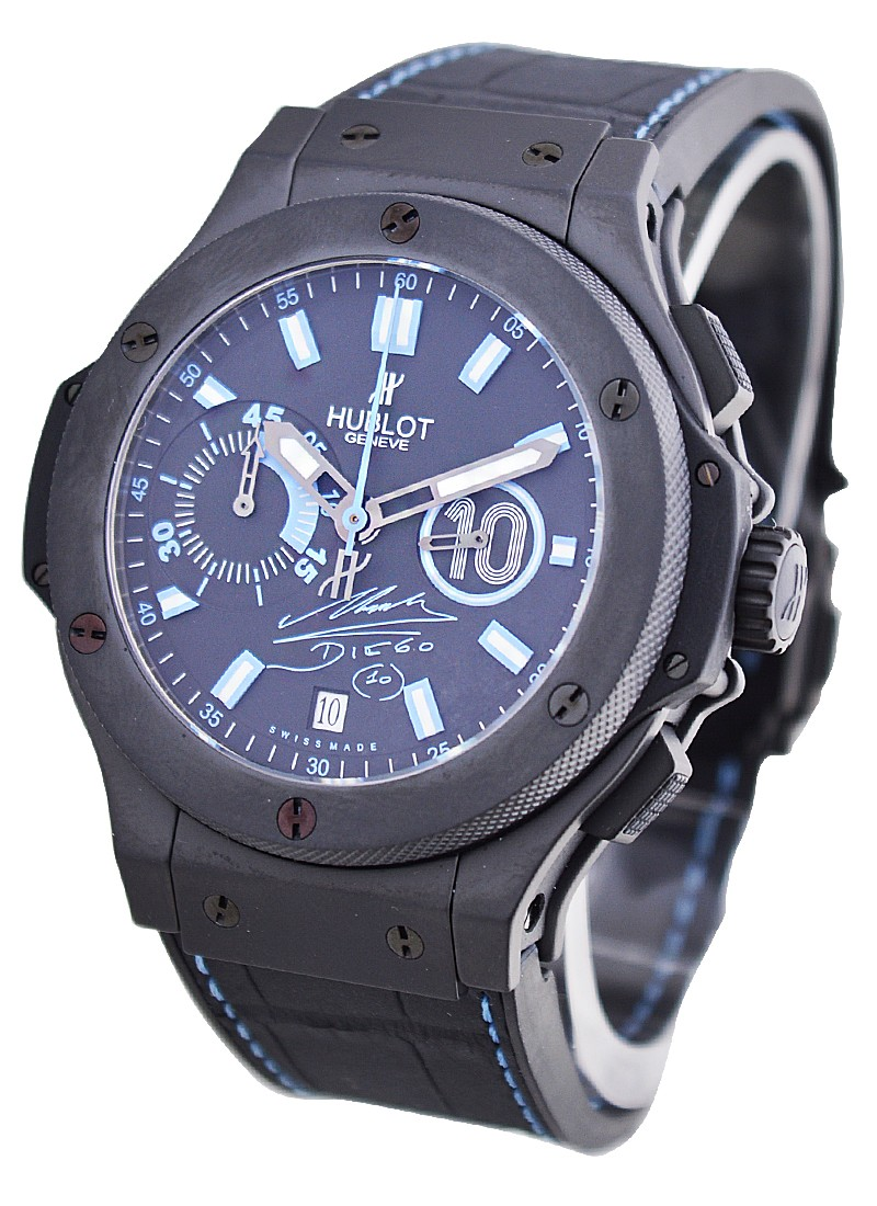 Hublot Maradona   Big Bang in Black Ceramic    Limited Edition of 250pcs