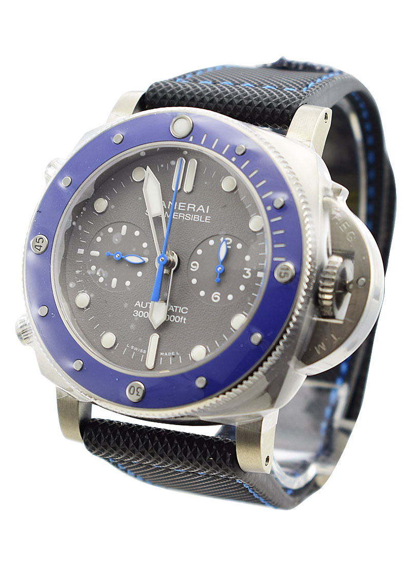 Panerai PAM 982 Submersible Chrono Guillaume Nery Edition