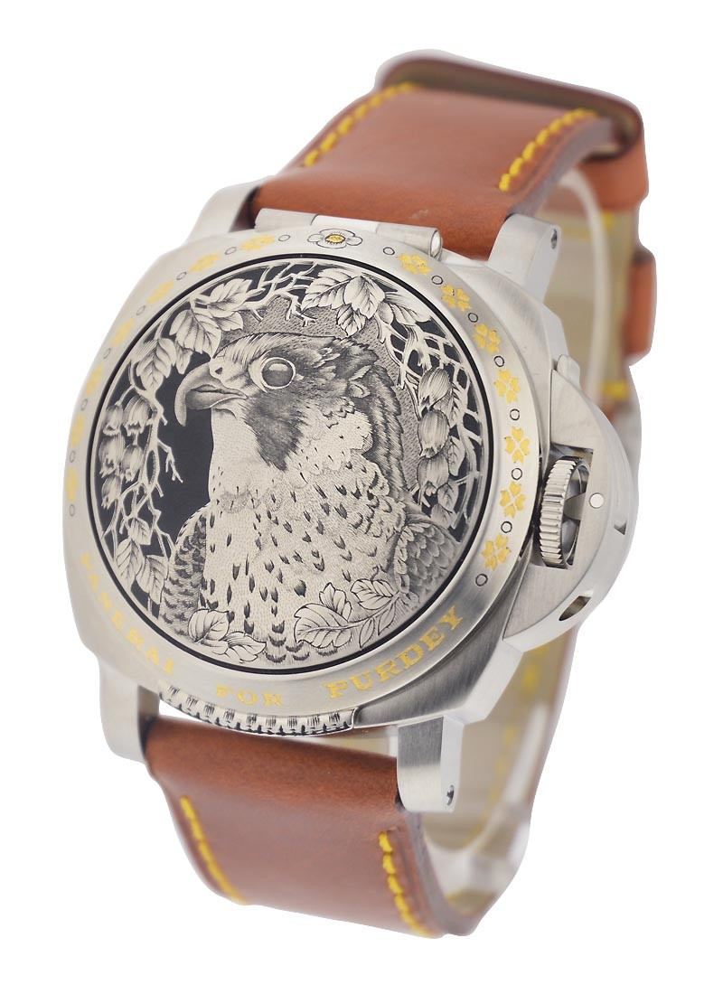 Panerai PAM 818 - Luminor Purdey Sealand in Steel - 2005 Limited Edition 100pcs