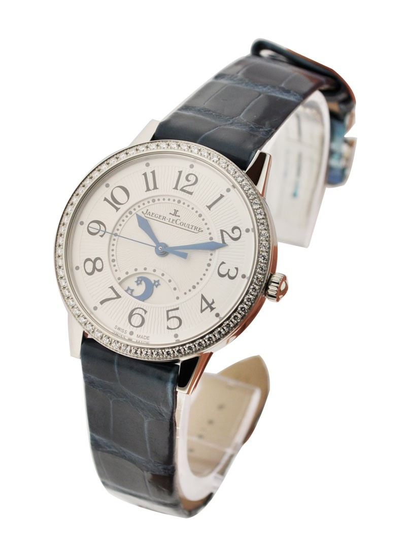 Jaeger - LeCoultre Rendez-Vous in Steel with Diamond Bezel