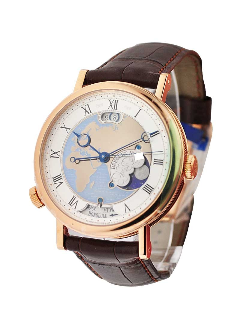 Breguet Classique Hora Mundi - Europe in Rose Gold