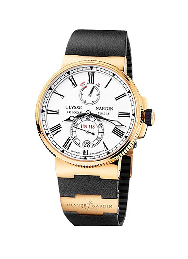 Ulysse Nardin Marine Chronometer 45mm in Rose Gold