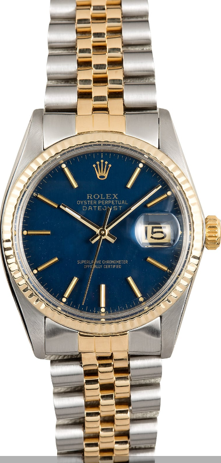 Rolex Used Vintage Datejust 16013 Men's Automatic in 2 Tone