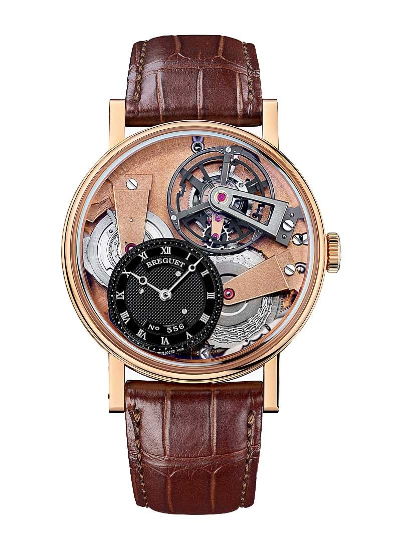 Breguet Tradition Tourbillon Men's Chaine Fusee in Rose Gold