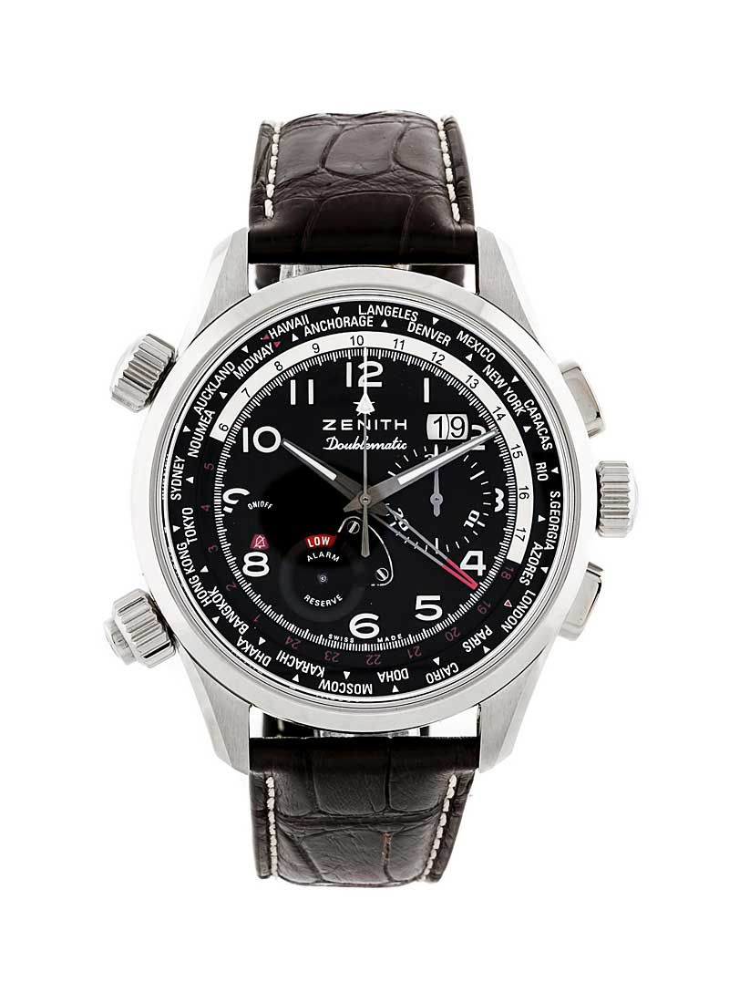 Zenith Pilot Doublematic Automatic in Steel