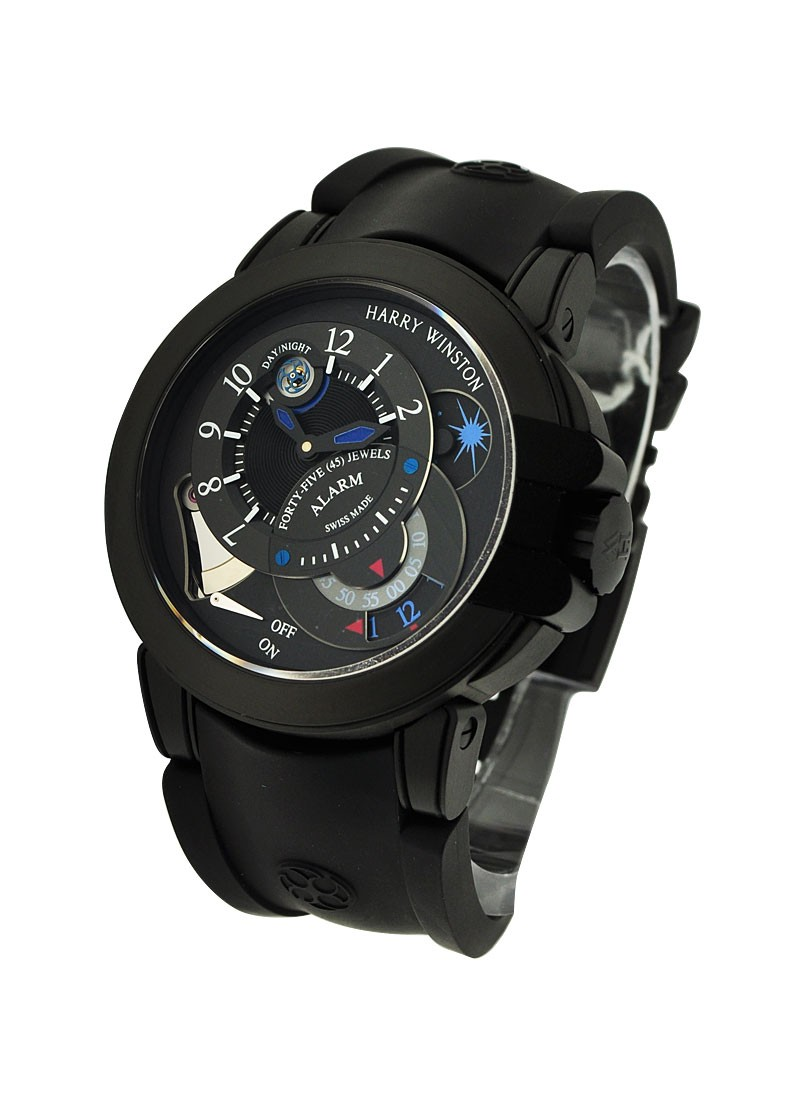 Harry Winston Project Z6 44mm Automatic in Black Zalium