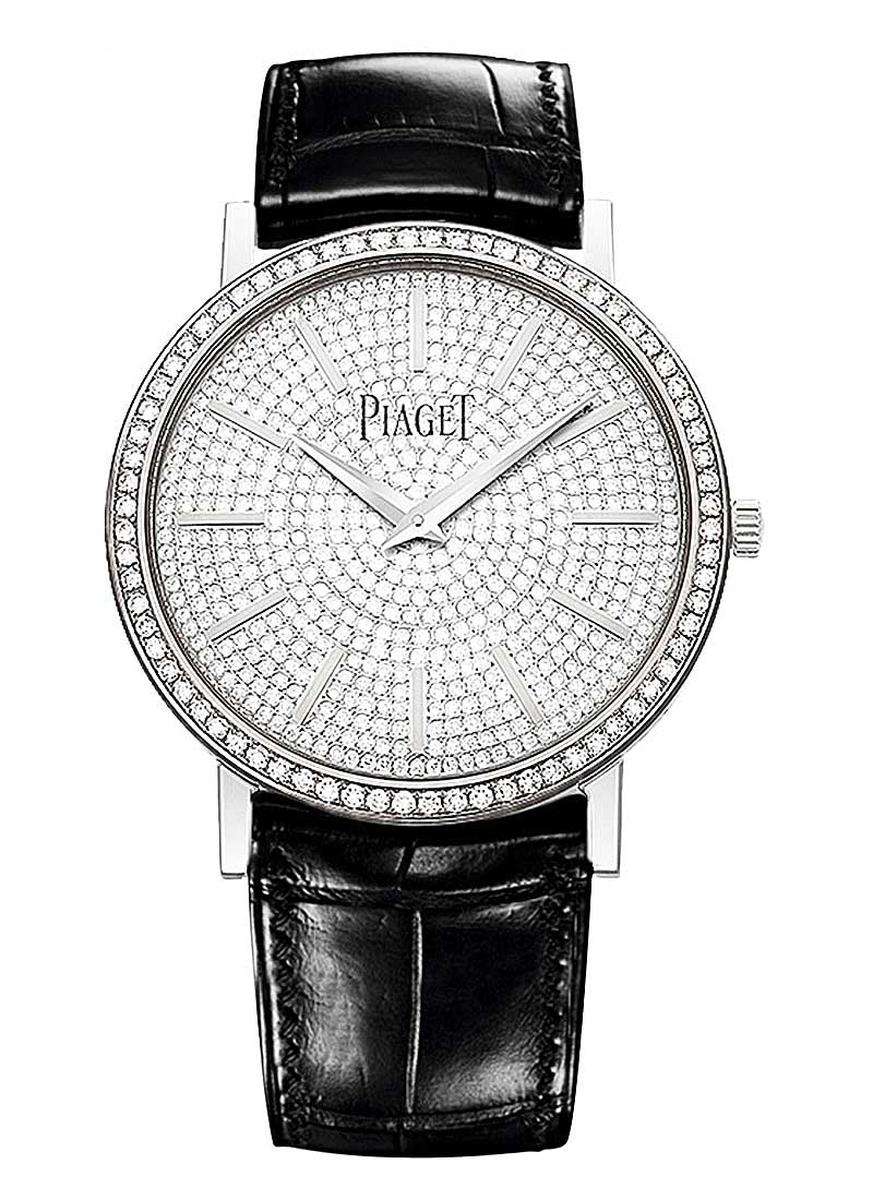 Piaget Altiplano Round in White Gold Diamond Bezel