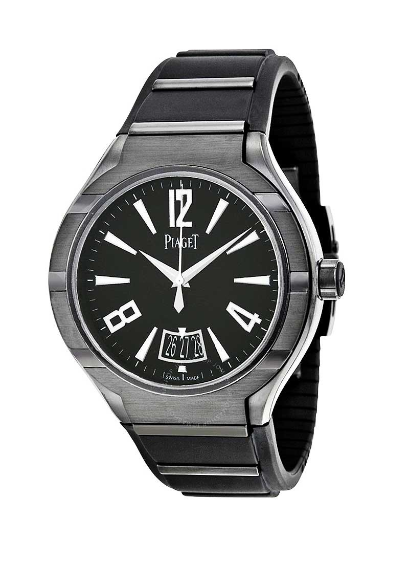 Piaget Polo FortyFive in DLC Titanium