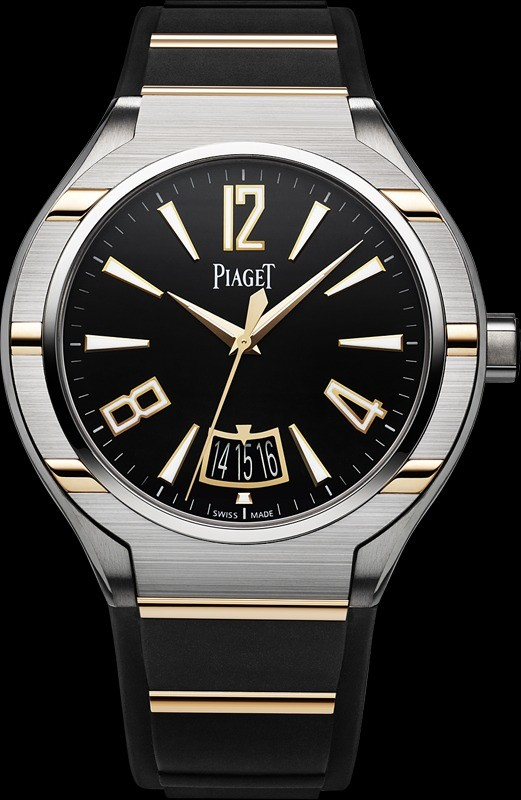 Piaget Polo FortyFive in Titanium and Rose Gold