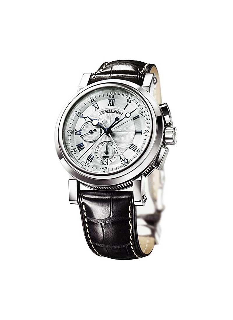 Breguet Marine Chronograph 42mm in White Gold