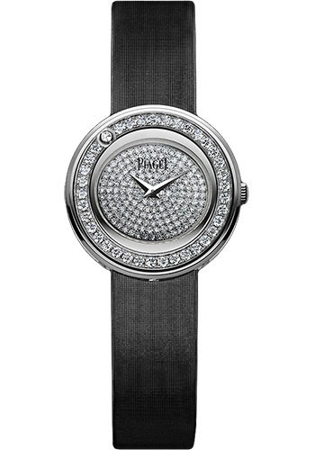 Piaget Possession in White Gold with Diamond Bezel
