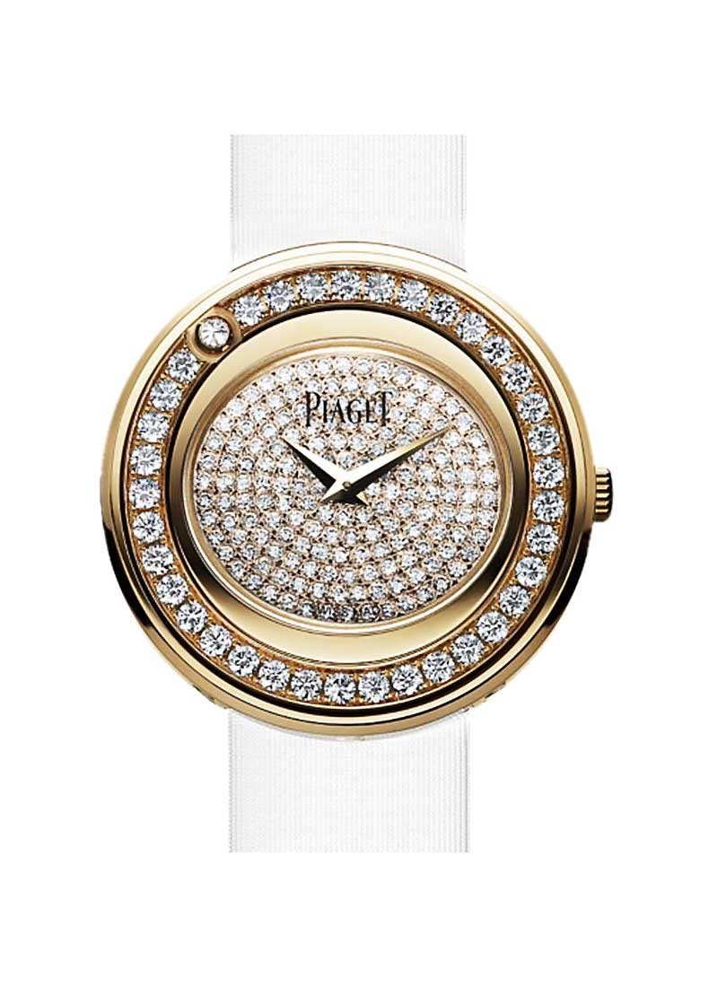 Piaget Possession in Rose Gold with Diamond Bezel