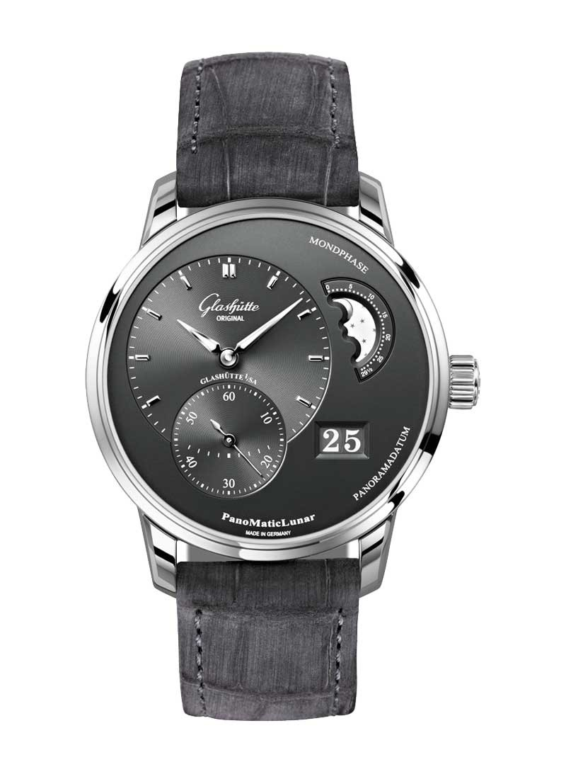 Glashutte PanoMaticLunar 40mm in Steel