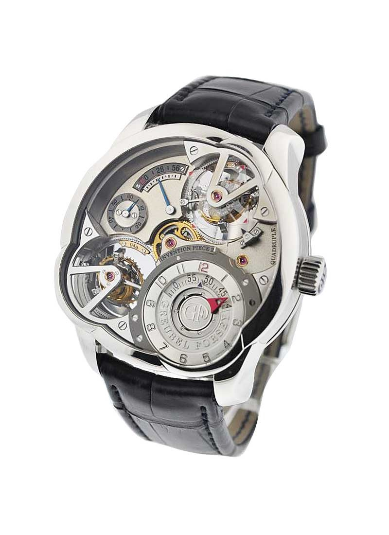 Greubel Forsey Invention Piece 2 in Platinum   Limited Edition of 11pcs