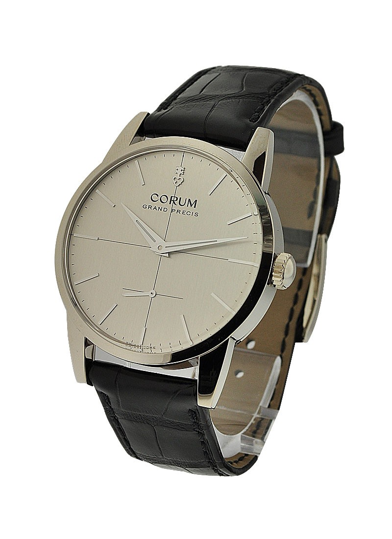 Corum Vintage Grand Precis in White Gold