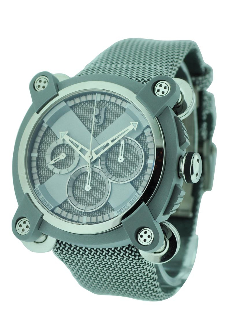 Romain Jerome Moon Invader Steel Grey Chronograph Heavy Metal