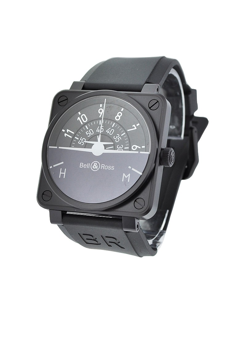 Bell & Ross BR 01 Turn Coordinator in Steel and PVD - Limited Edition of 999pcs
