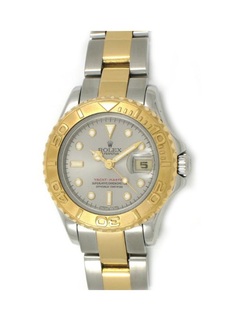 Rolex Unworn Yacht-Master Small Size 29mm Autoamtic in Steel with Yellow Gold Bezel