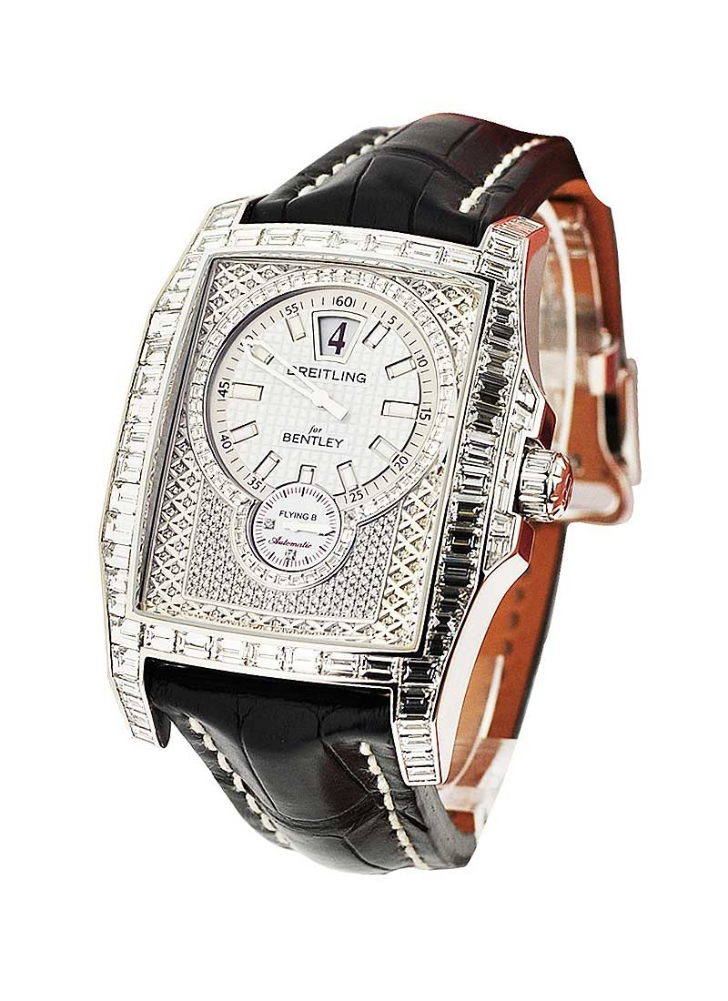 Breitling Bentley Flying B Full Pave with Baguettes - 25 pcs made