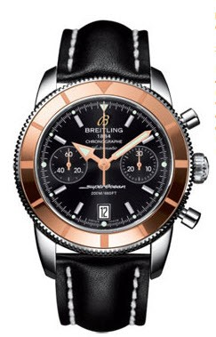 Breitling Superocean Chronographe Heritage 2-Tone in Steel with Rose Gold Bezel