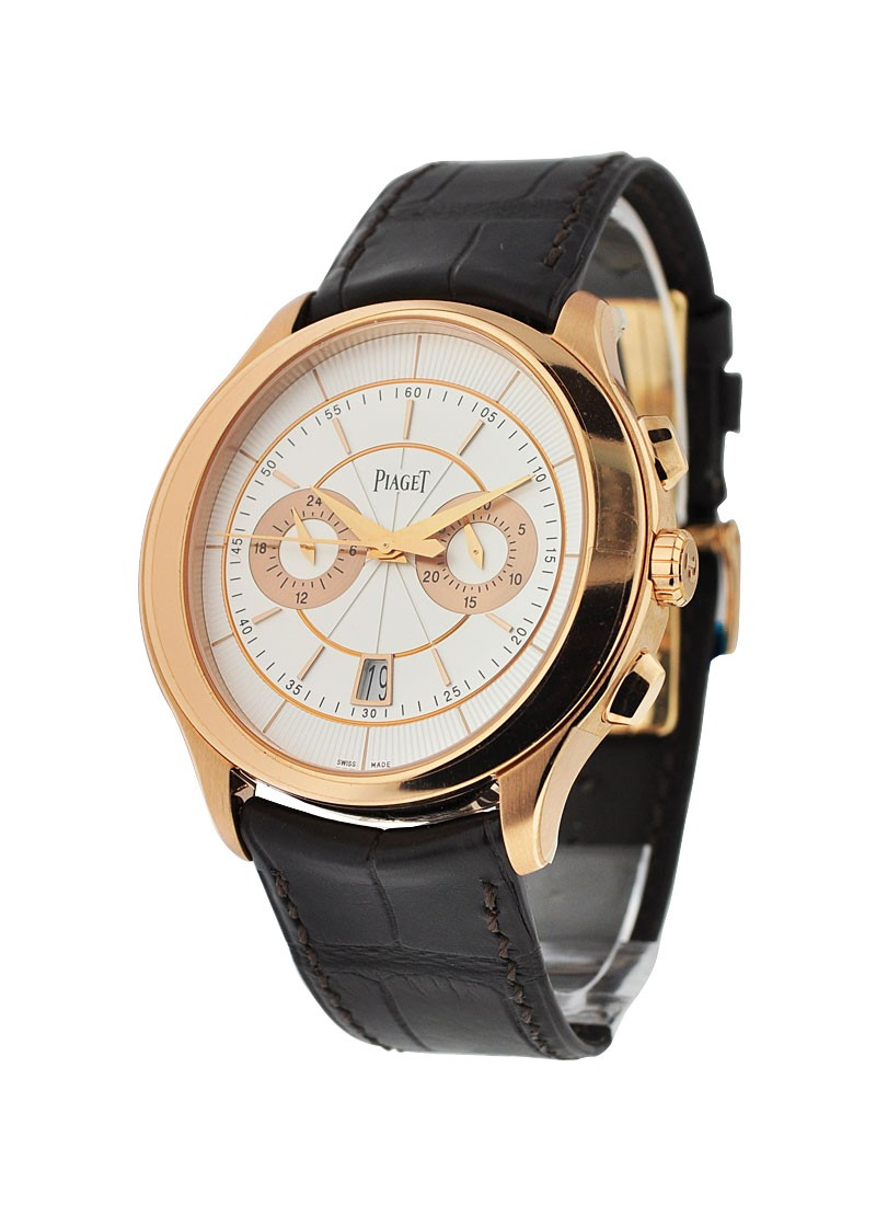 Piaget Gouverneur Flyback Chronograph in Rose Gold