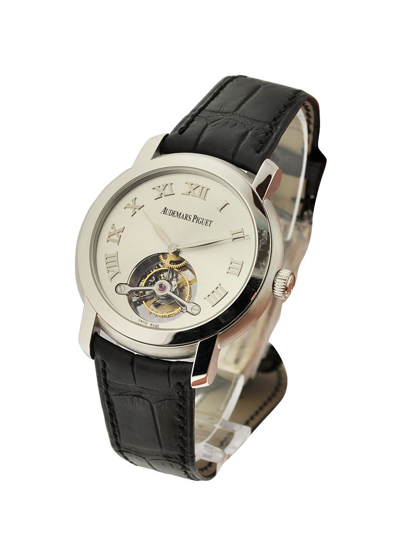 Audemars Piguet Jules Audemars Tourbillon in White Gold