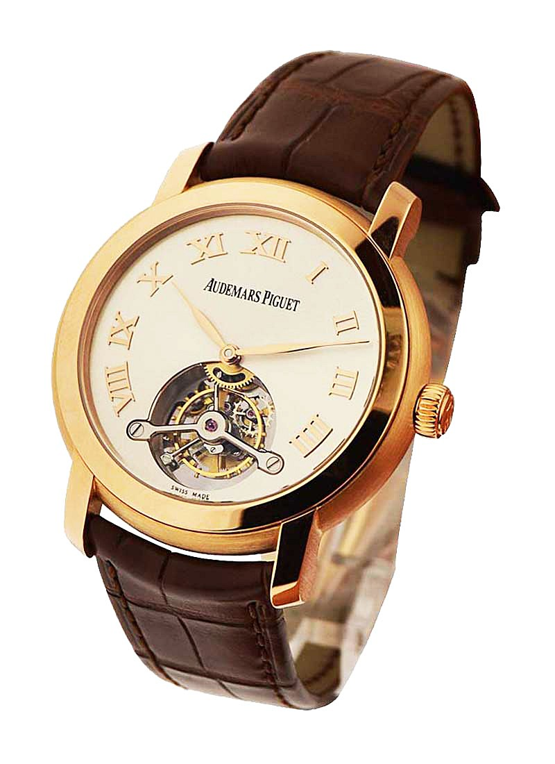 Audemars Piguet Jules Audemars Tourbillon in Rose Gold