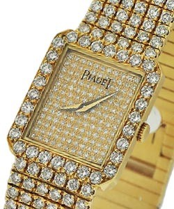 Pave Diamond Dial