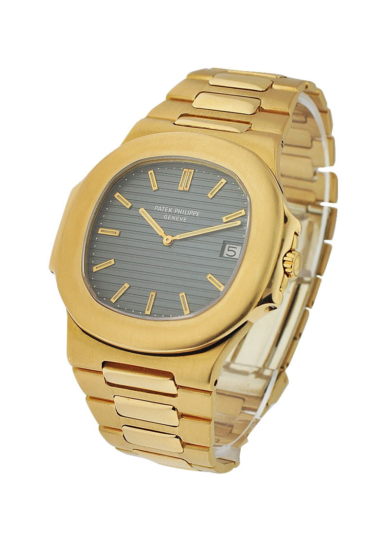 Patek Philippe Jumbo Nautilus 3700/1J Yellow Gold