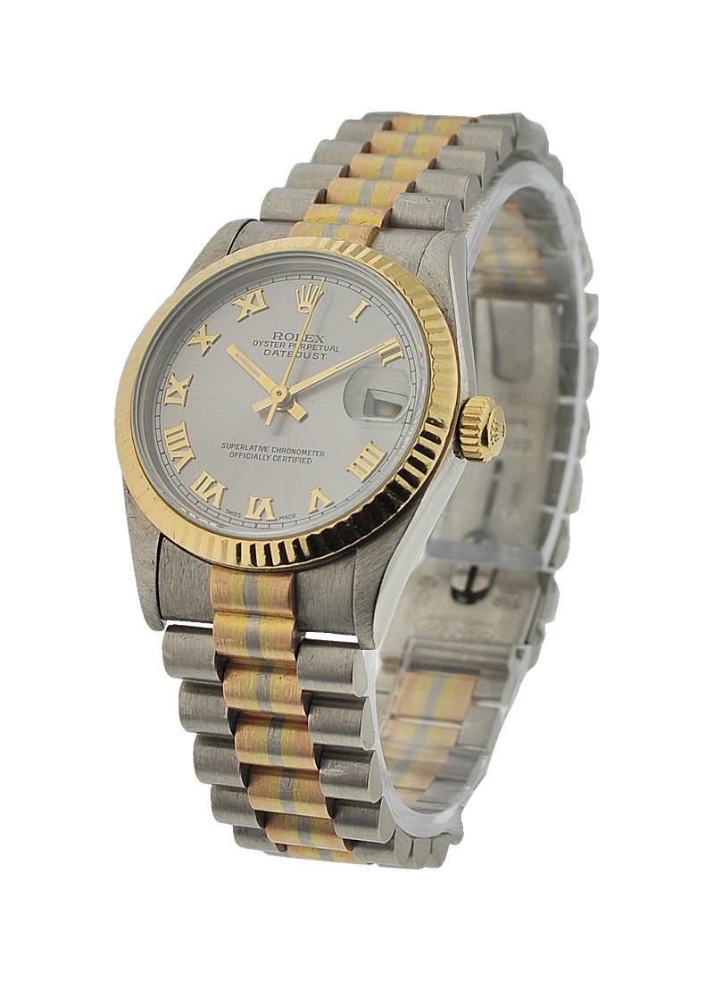 Pre-Owned Rolex Mid Size Tridor President 68279