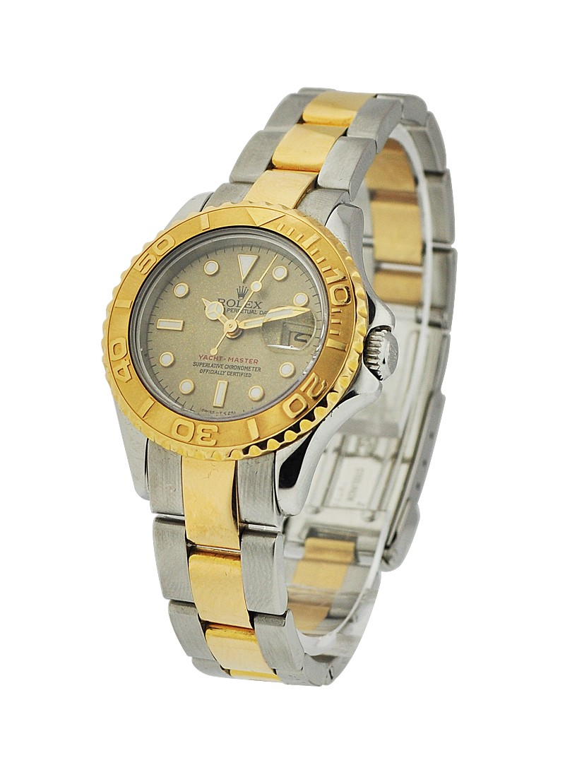 Rolex Used Yachtmaster 2 Tone      Lady's Size 169623
