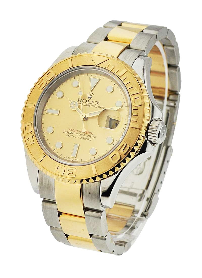 Rolex Used Yacht-Master Large Size 40mm with Yellow Gold Bezel