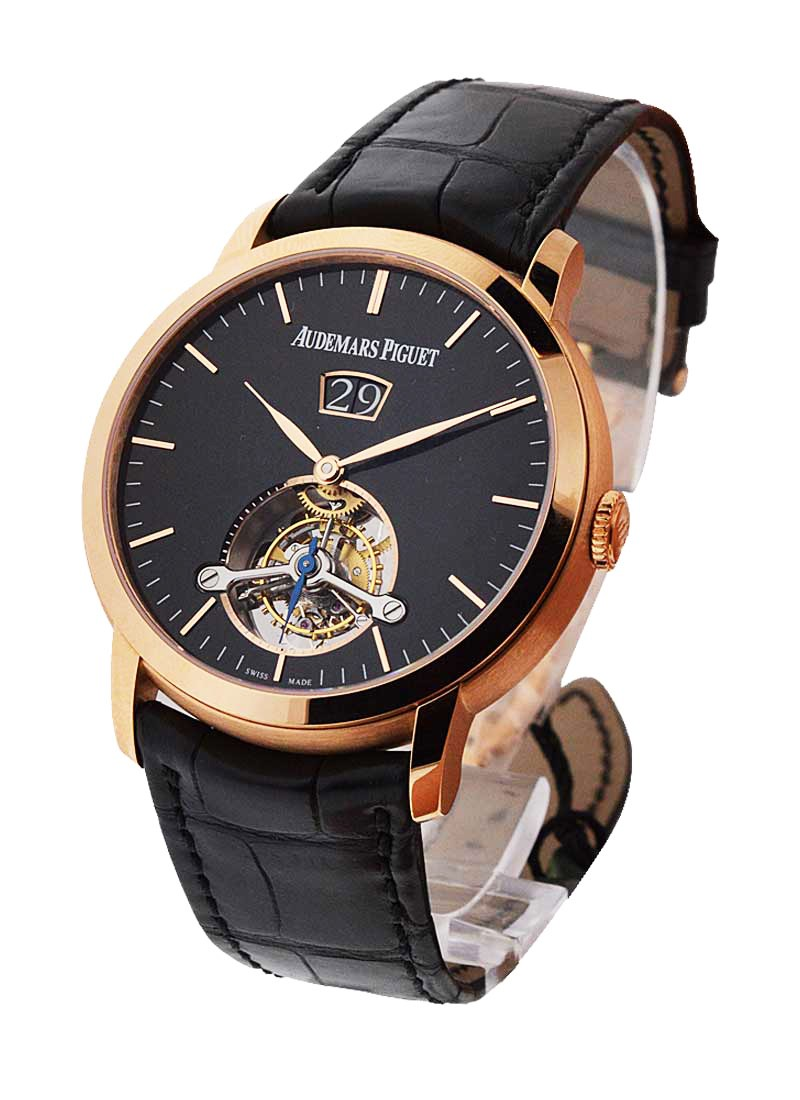 Audemars Piguet Jules Audemars Large Date Tourbillon in Rose Gold