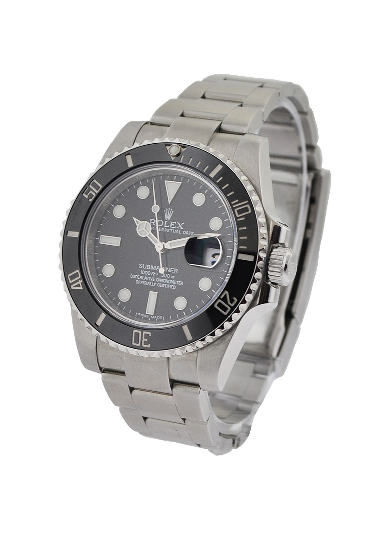 Rolex Used Submariner with Black Ceramic Bezel