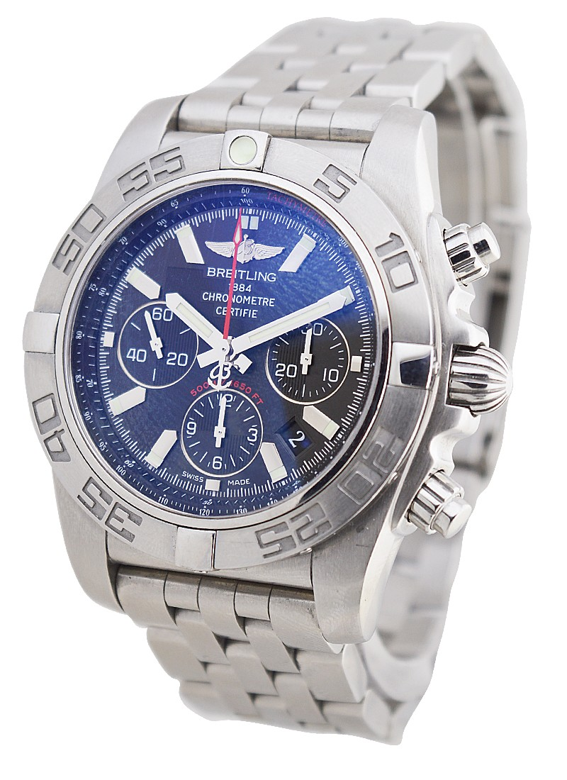 Breitling Chronomat GMT 44mm in Steel