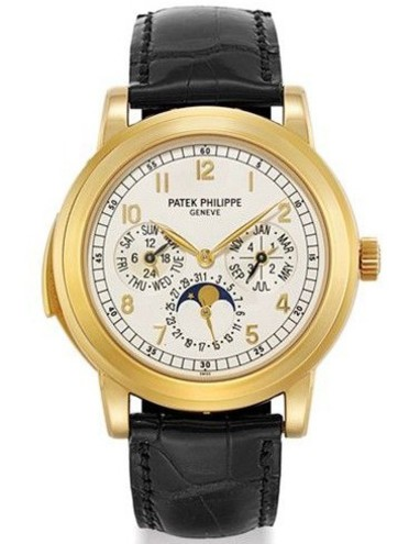 Patek Philippe 5074   Yellow Gold   Minute Repeater Perpetual