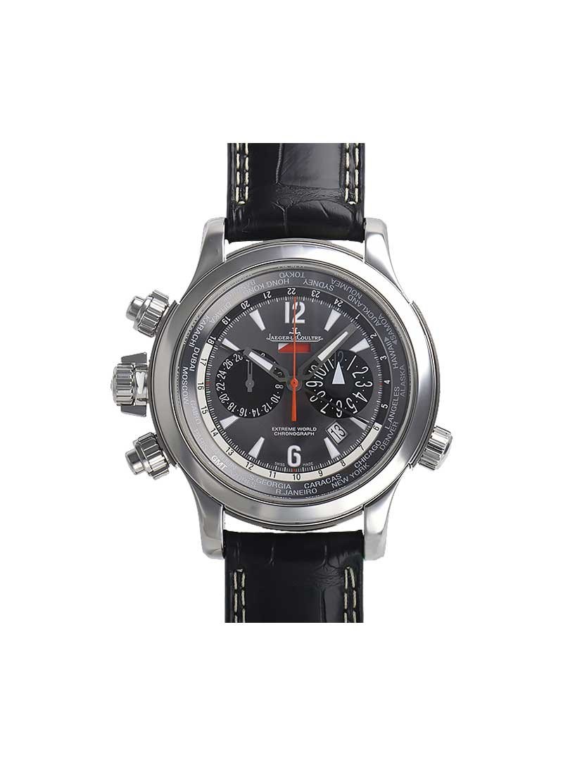 Jaeger - LeCoultre Master Compressor Extreme World Chrono Inverssor in Steel