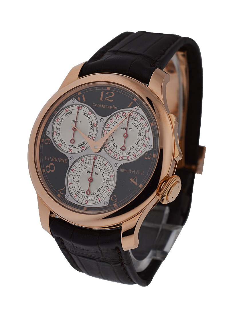 FP Journe Centigraphe Souverain in Rose Gold