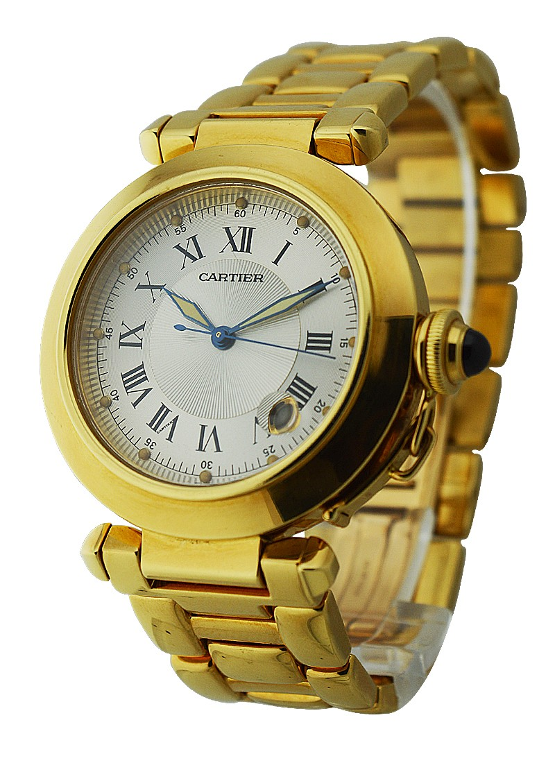 Cartier 38mm Pasha Yellow Gold Automatic
