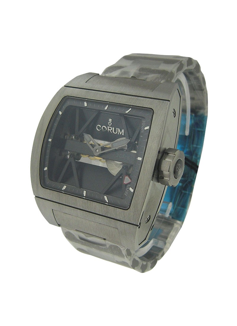 Corum Titanium Bridge 3 Days Power Reserve in Titanium
