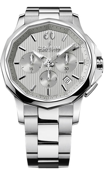 Corum Admirals Cup Legend 42 Chronograph in Steel
