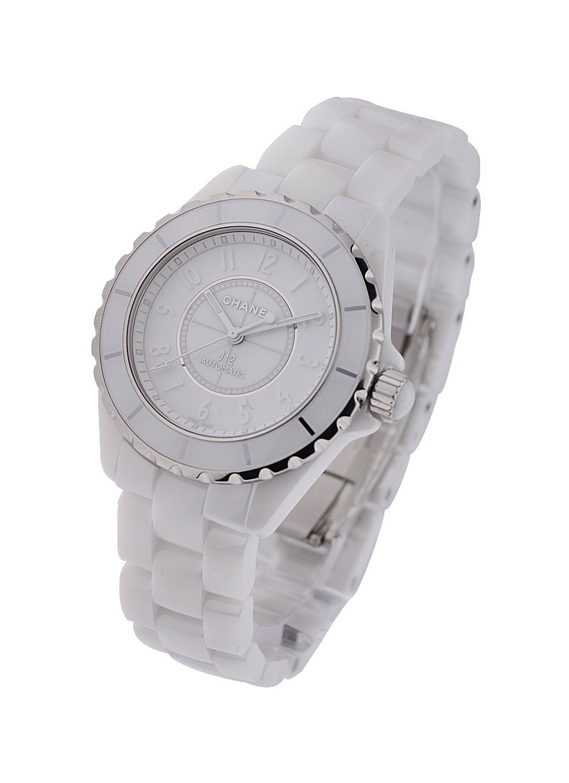 Chanel J12 GMT 38mm White Ceramic  H3443