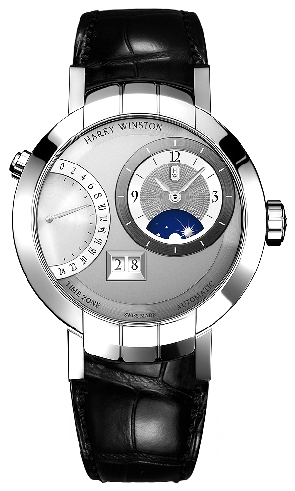 Harry Winston Premier Excenter Time Zone Automatic